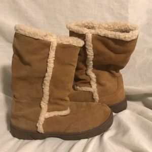 Route 66 woman's boots, pull on, size6 light brown